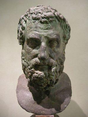 IMMAGINE 3 Bronzo rinascimentale di Eschilo, Museo archeologico nazionale di Firenze