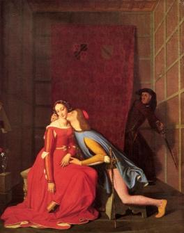 IMMAGINE 3 J.A.D. Ingres, Paolo e Francesca (1834)